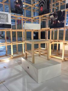 Al final todo el material se aprovechará para fabricar sillas